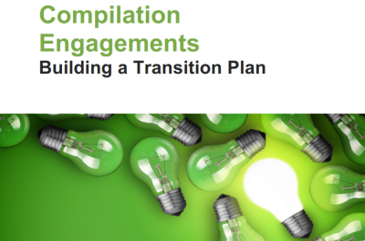 CSRS 4200 Transitioning to the New Compilation Engagements Standard